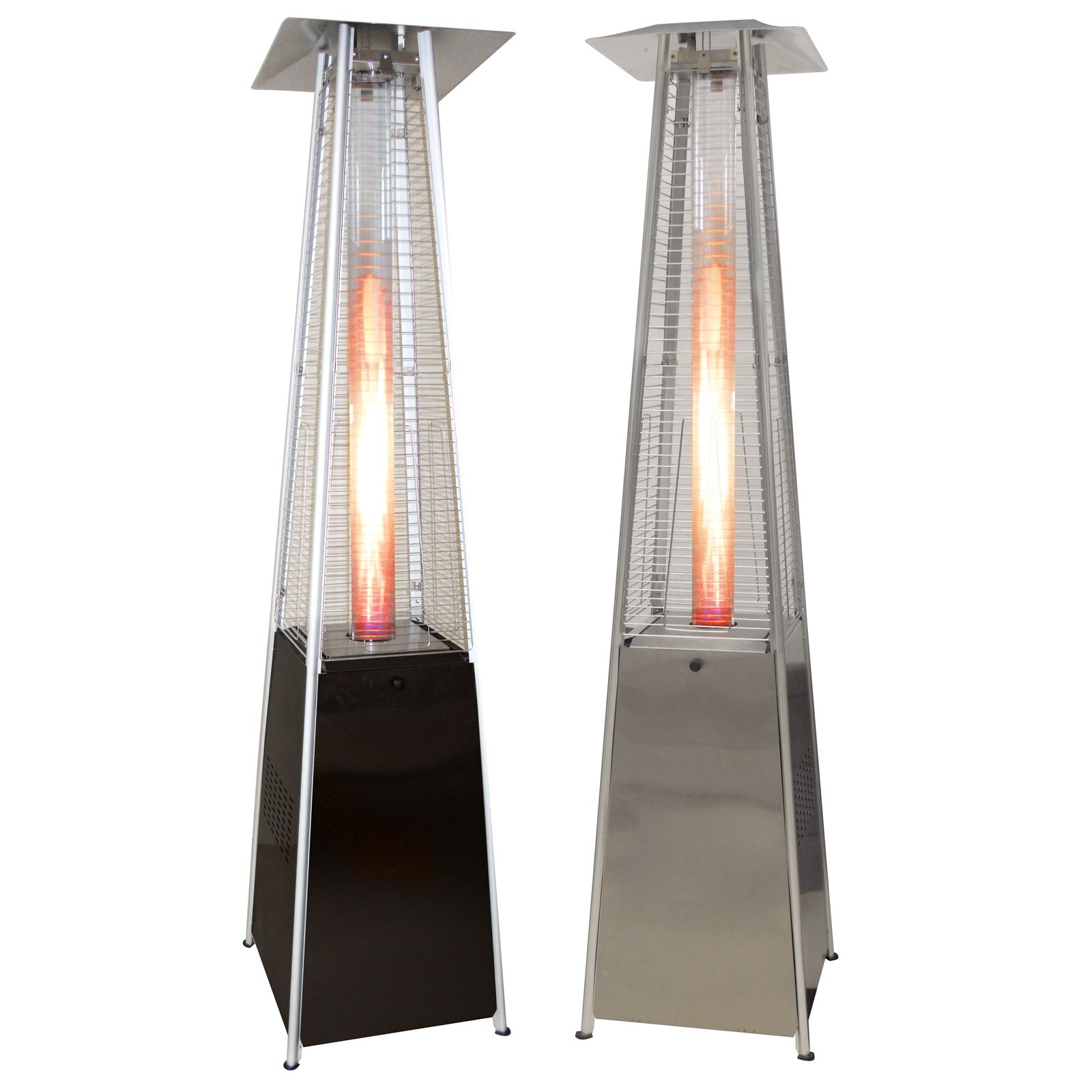 stainless flame steel heater quartz dp outdoors uk garden kw heaters amazon stylish outdoor tall patio glass tube co