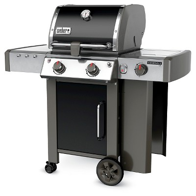 Weber Genesis Ii Lx E 240 2 Burner Lp Gas Grill Model 60014001 Black Propane Gas Grill Gas Grill Gas Grill Reviews
