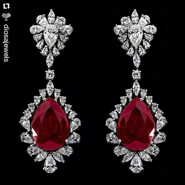 @mm_mucevhermagazin. repost @diosajewels. magnificent  #earrings #stylish #design
