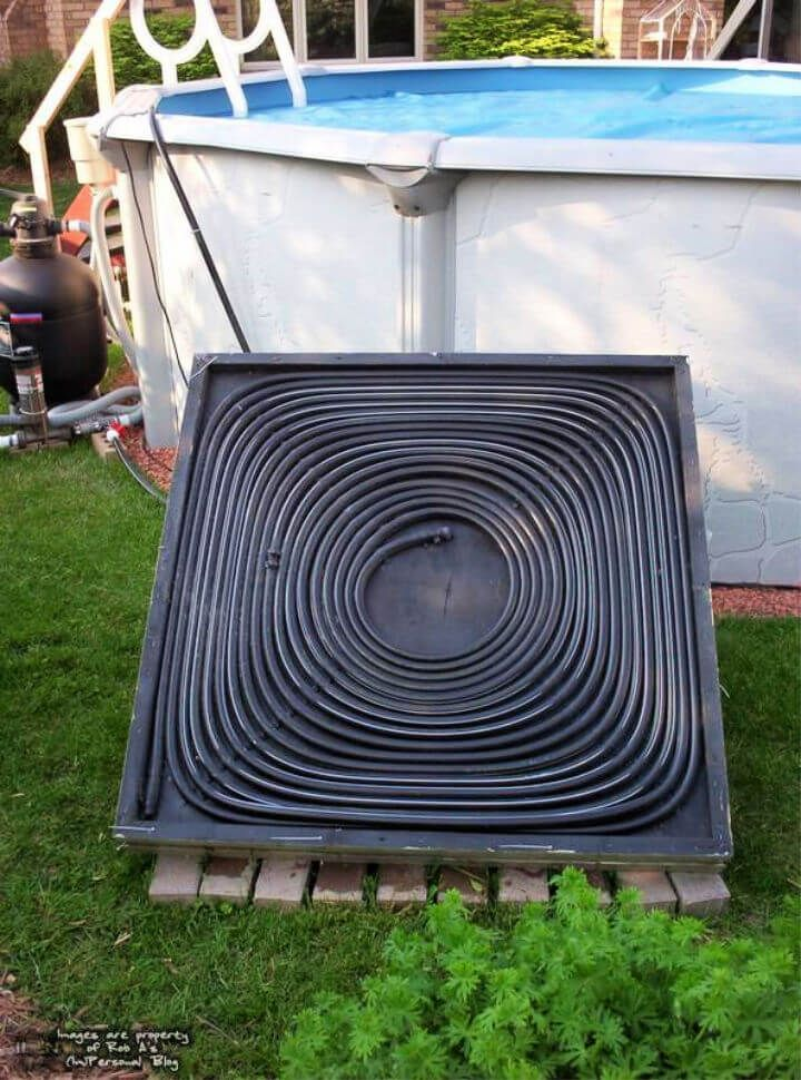 diy solar heater for above ground pool