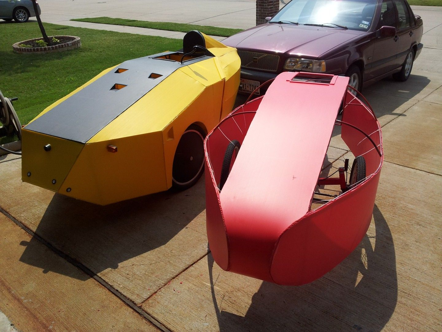 DIY-Velomobile | enclosed reverse trikes | Pedal cars, Tricycle, Diy