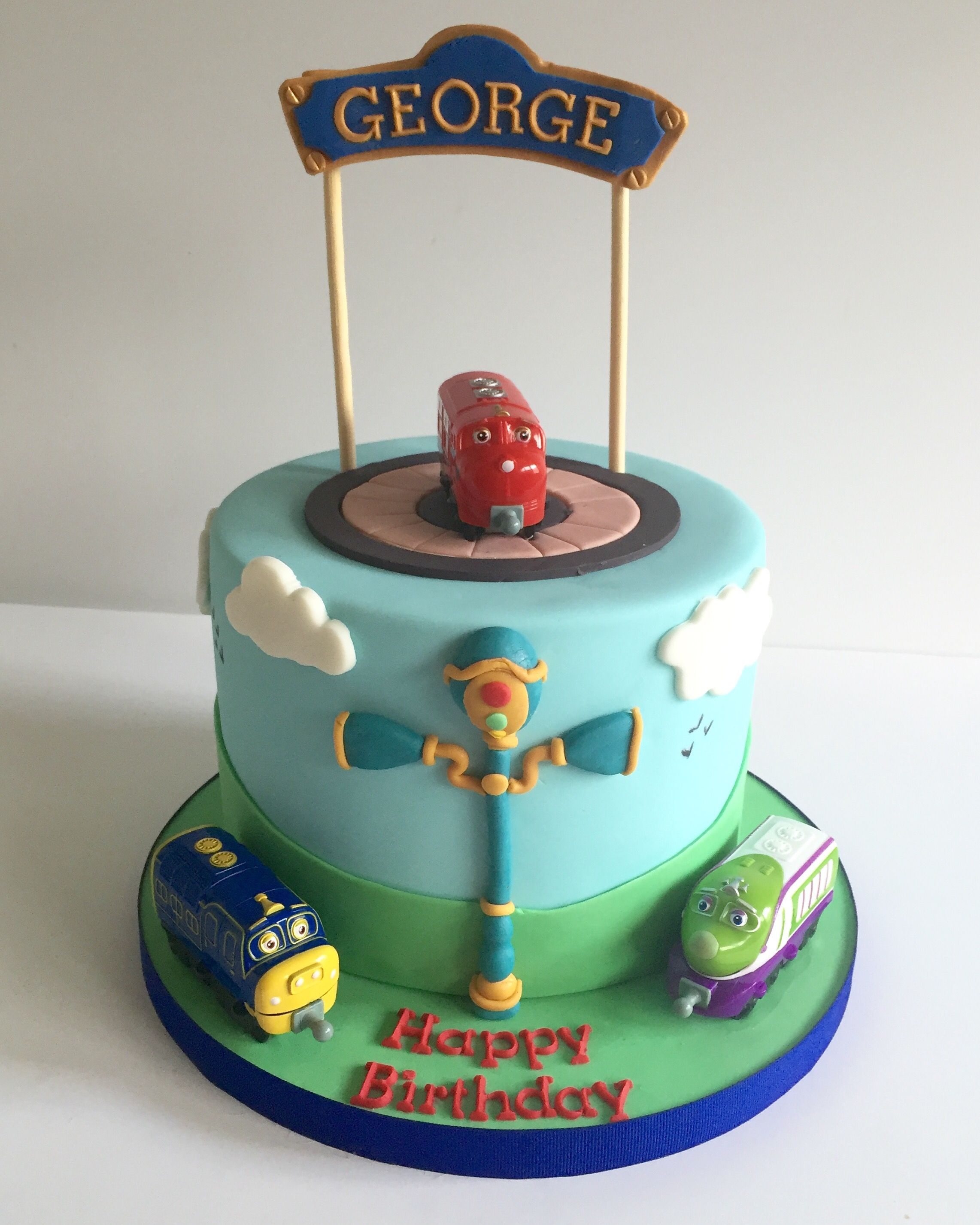 Prime Chuggington Birthday Cake Train Birthday With Images Funny Birthday Cards Online Overcheapnameinfo