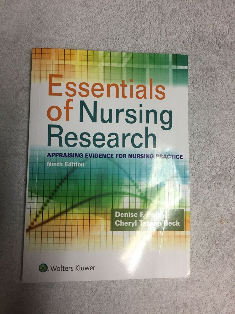 Details About Essentials Of Nursing Research By Denise F
