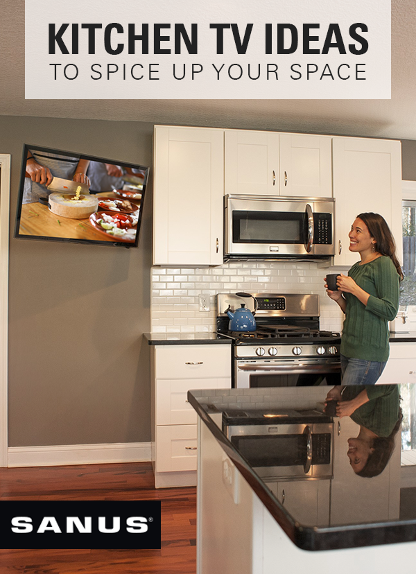 Find The Best Place To Put A Tv In The Kitchen Tv In Kitchen Kitchen Kitchen Appliances