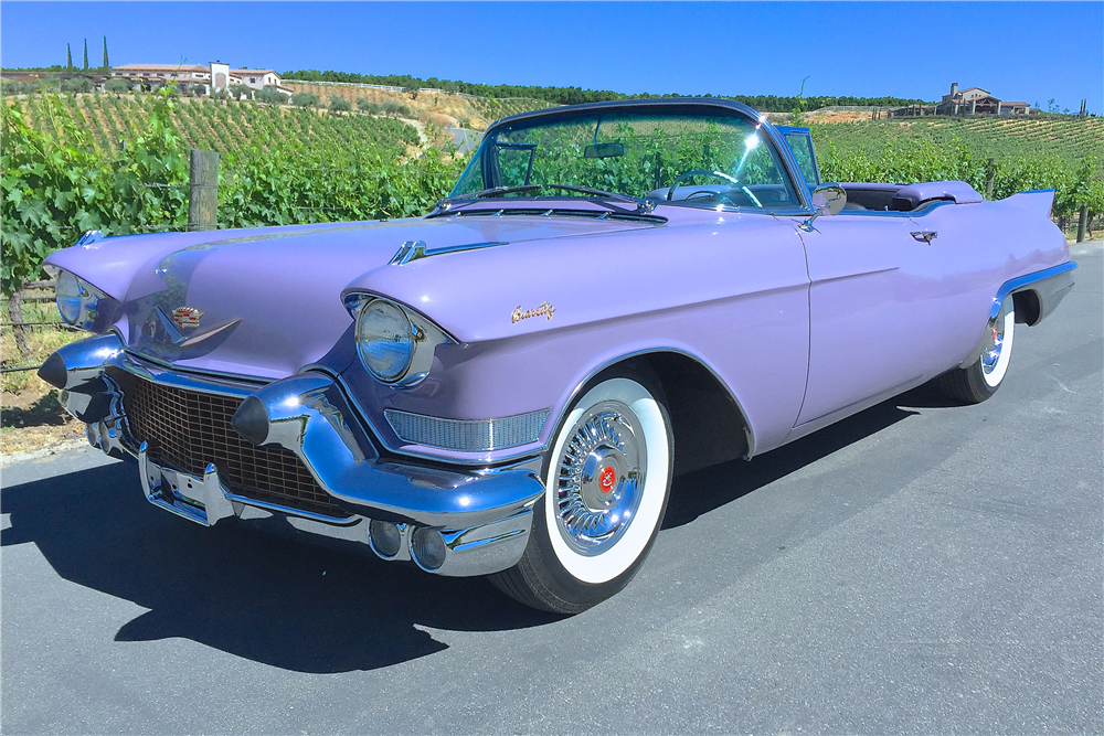 1957 CADILLAC ELDORADO BIARRITZ CONVERTIBLE - Barrett-Jackson Auction Company - World's Greatest Collector Car Auctions
