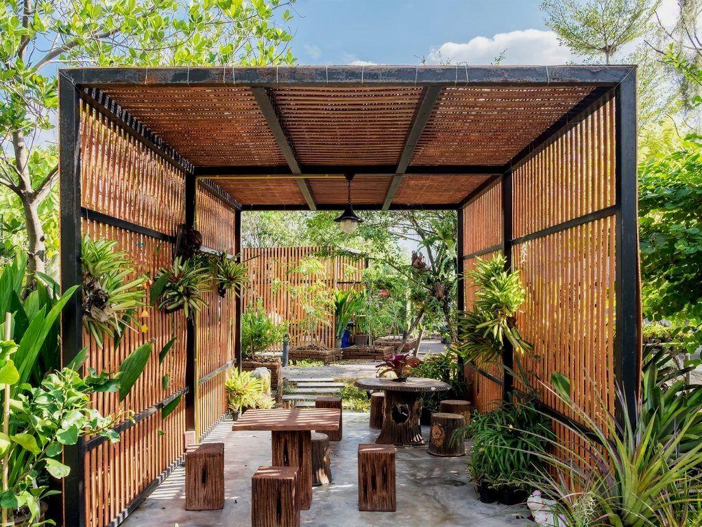 36 Amazing Garden Structure Design Ideas Gowritter Outdoor Pergola Tropical Garden Design Modern Pergola Designs