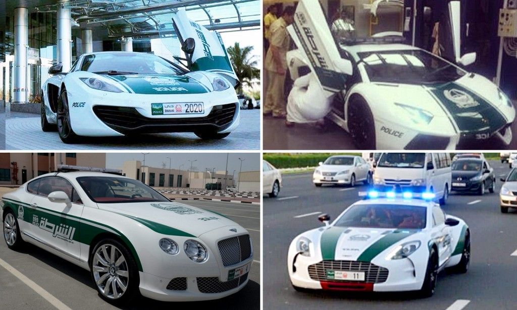 Dubai police's latest squad car A £170,000, 207mph