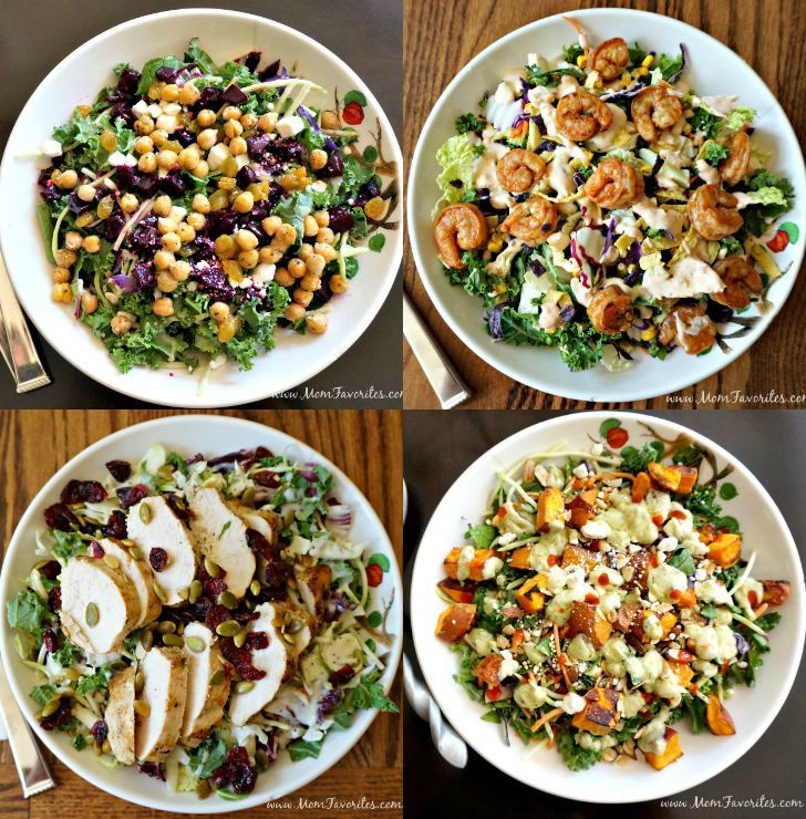 Dinner Made Simple With These Four Main Dish Eatsmartveggies Salad Ideas Loaded Healthy Proteins