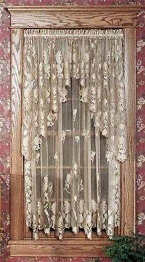Resultado De Imagem Para Victorian Lace Curtains