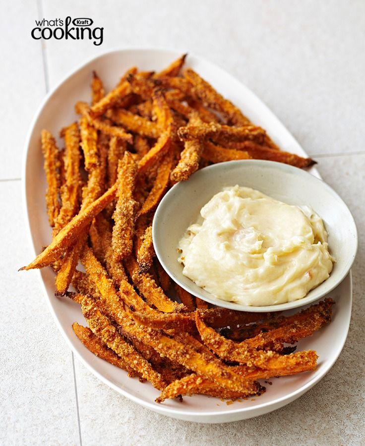 Crunchy Sweet Potato Fries #recipe