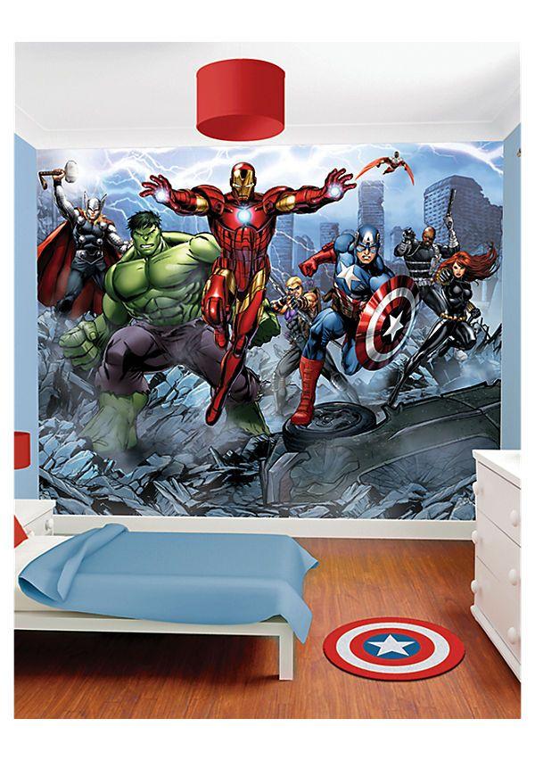 e0a4344aefd Walltastic Walltastic Marvel Avengers Assemble Wall Murals | Kid's ...