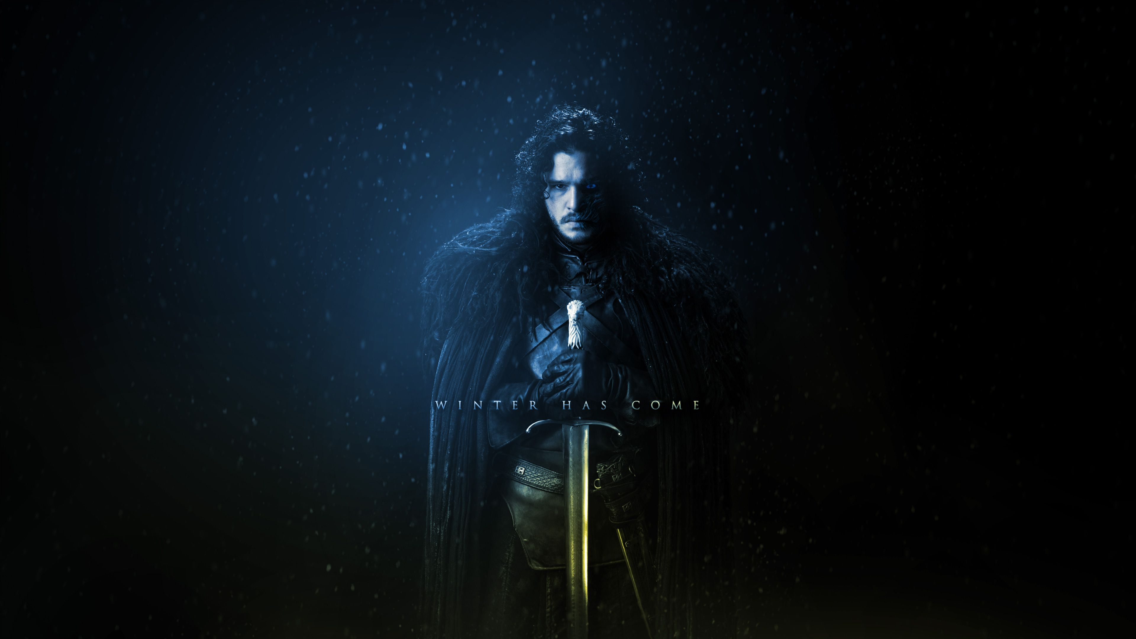 Game Of Thrones Season 7 Jon Snow Wallpaper 4K