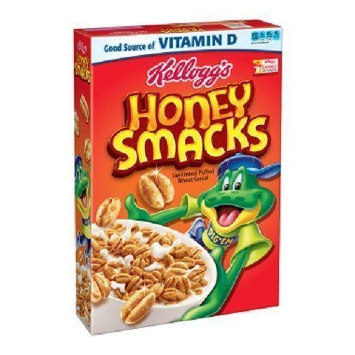 Kellogg'S Honey Smacks Cereal 15.3 Oz Box