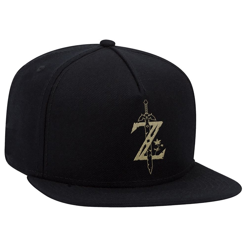 best service 469d4 5ae55 The Legend of Zelda  Breath of the Wild Brimmed Hat - Black Gold, Kids  Unisex