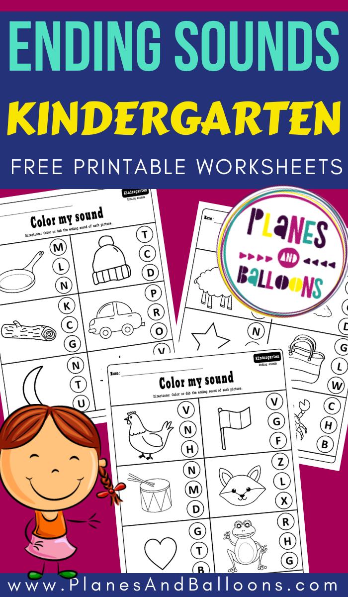 Ending Sounds Kindergarten Worksheets Phonics Kindergarten Kindergarten Worksheets Phonics Worksheets Free [ 1200 x 700 Pixel ]