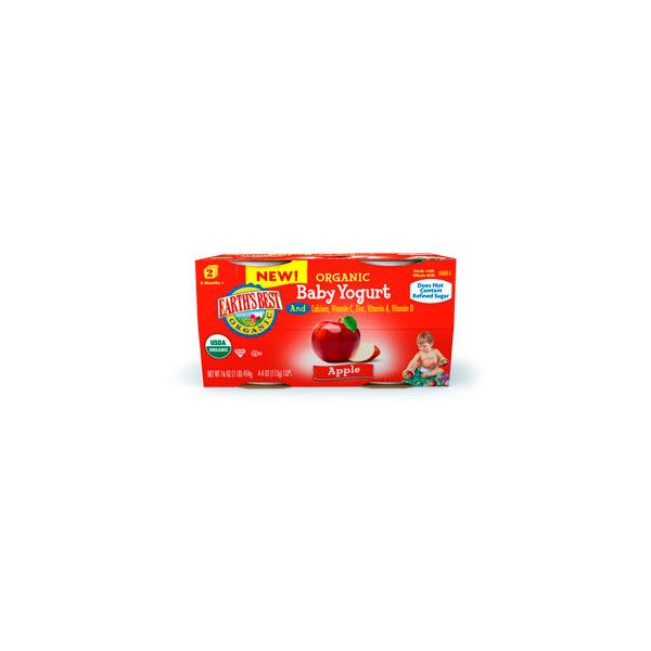 Infant Yogurt Apple ❤ liked on Polyvore featuring baby food