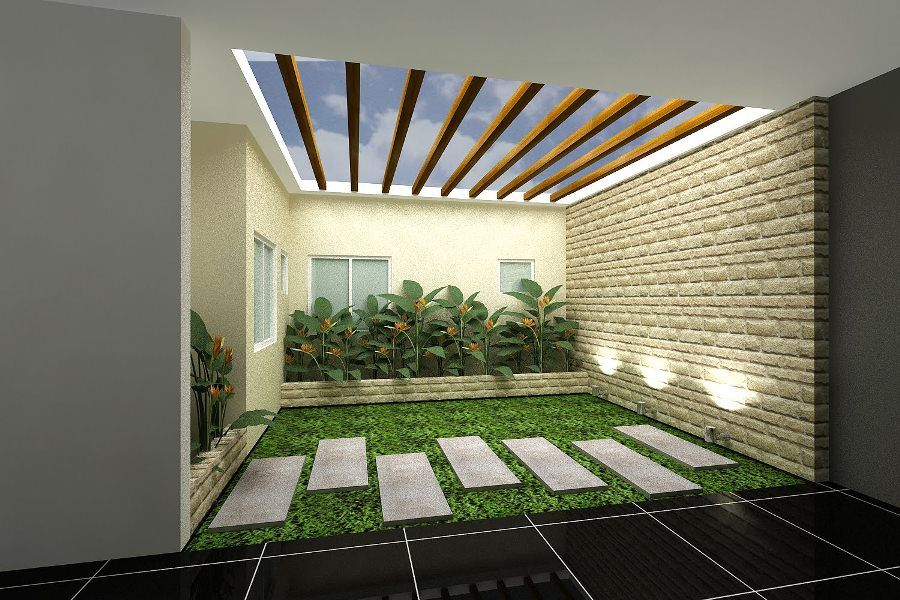Ispirations Indoor Garden Architecture Design For Your Home Modern Interior House With