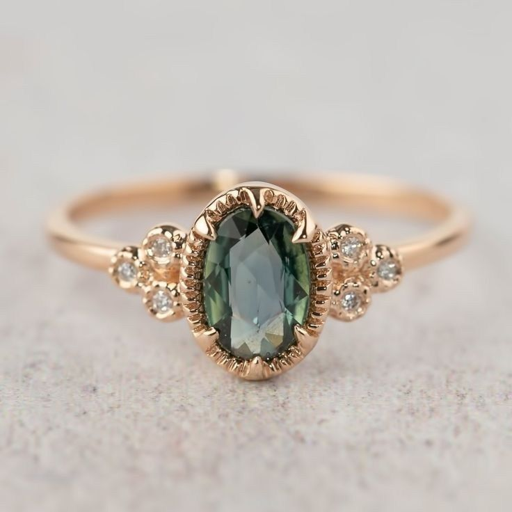 64 magnificent sapphire engagement rings 2019 22 » Welcomemyblog.com