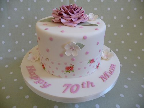 Pin 70th Birthday Cake Ideas For Women Picture To Pinterest With