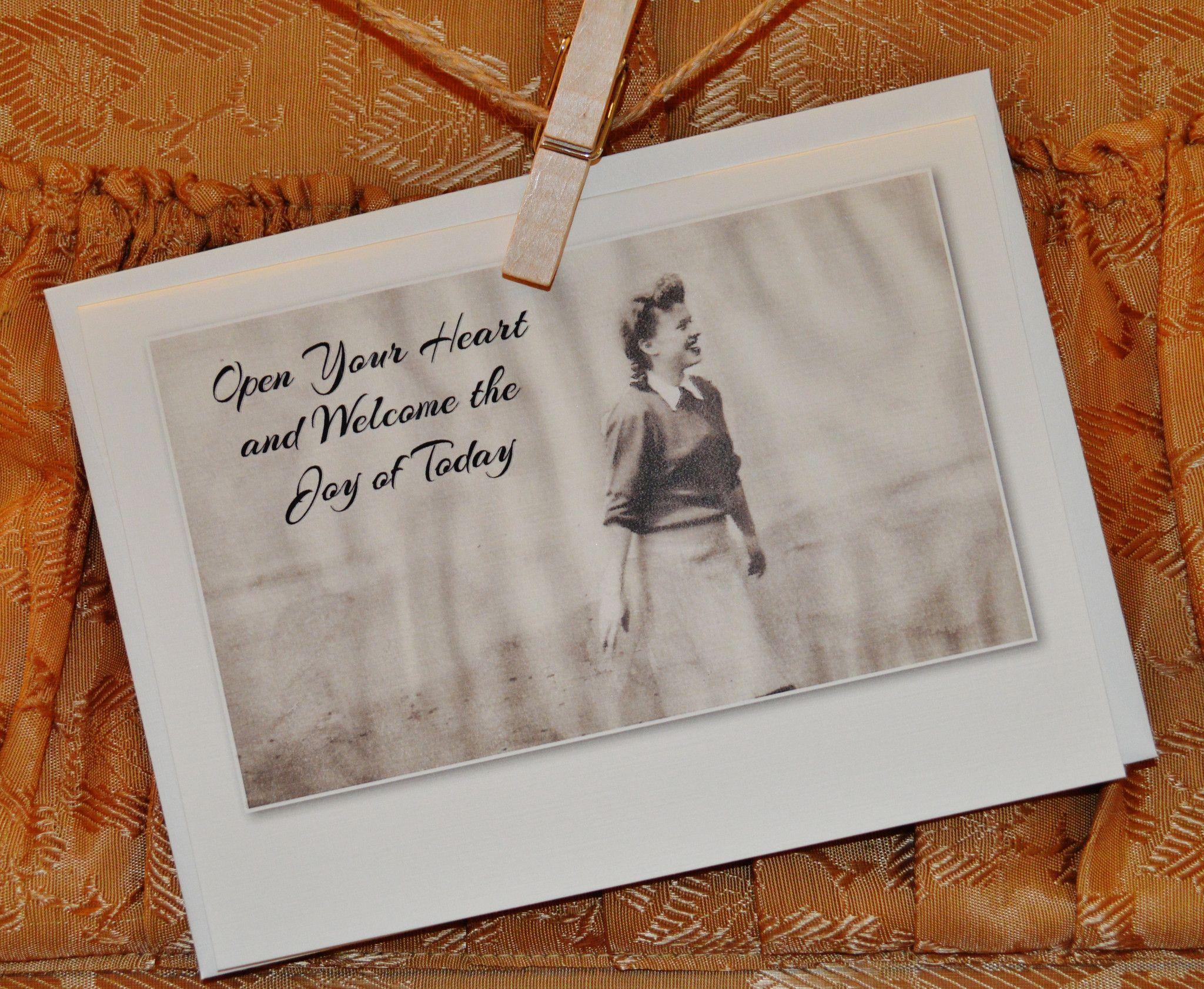 """Joy"" Greeting Card"