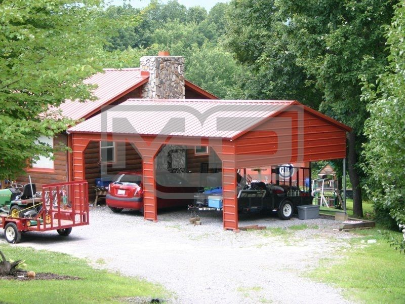 Metal Carports Guide How To Choose The Right Size