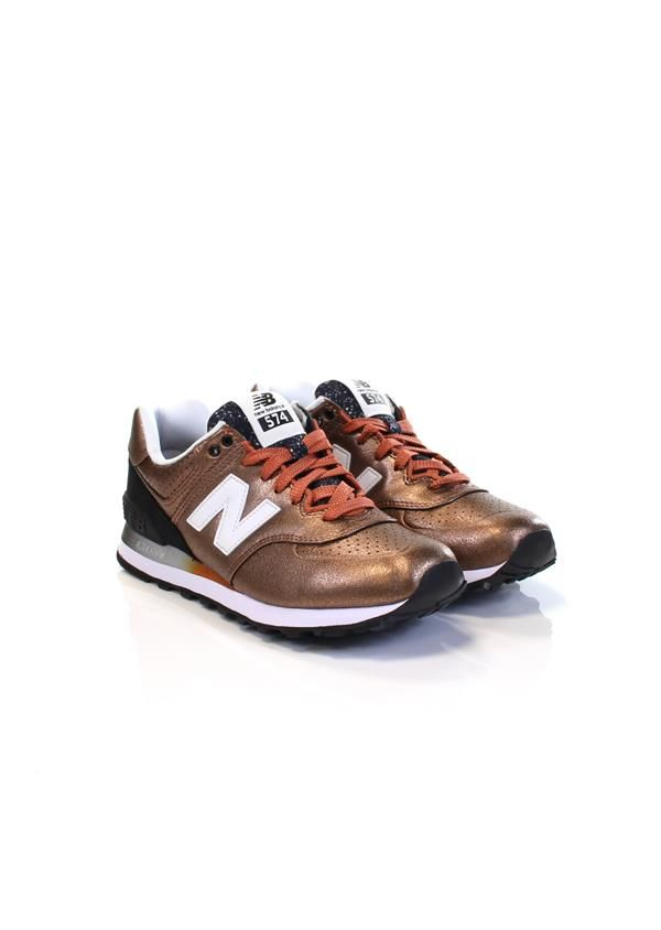 New Balance New-balance-wl574 Sneakers Dames Brons Donelli ...