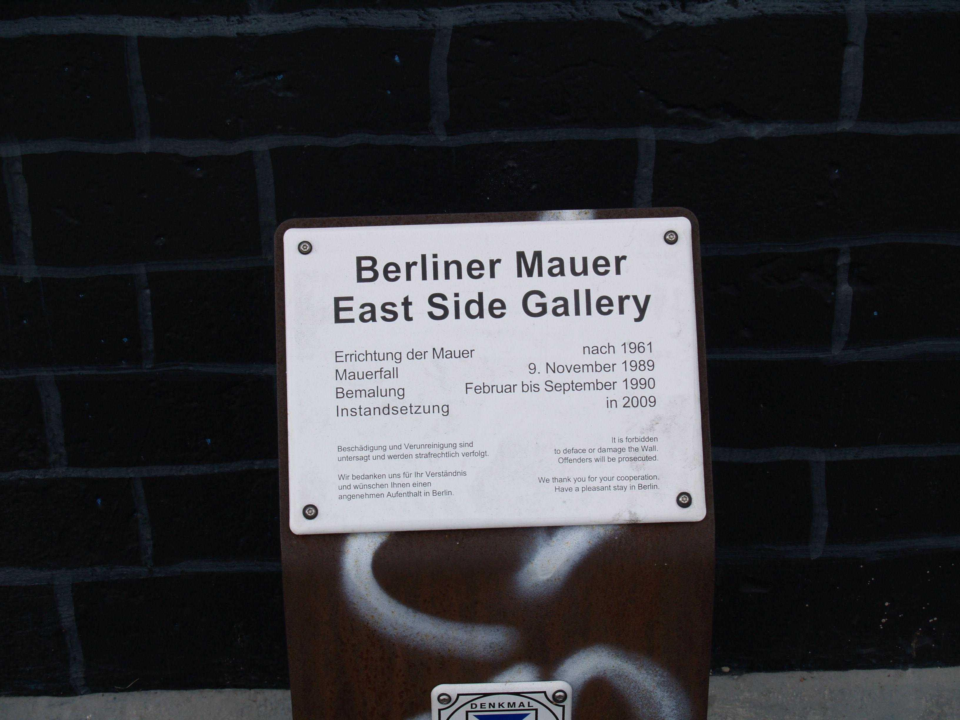 Berliner Mauer East Side Gallery Berliner Mauer Mauer Bilder