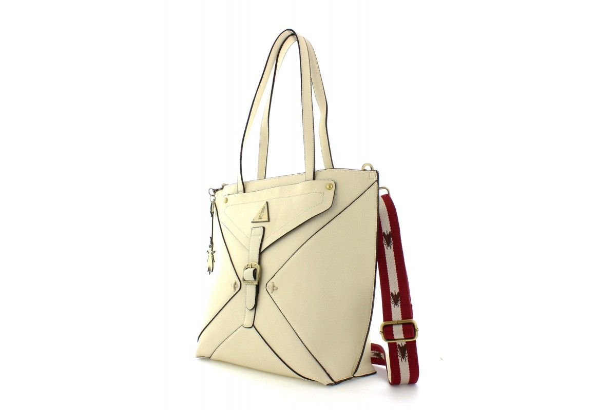d15717ad74f Fly London Bigg Off White Cream Tote Shoulder Bag
