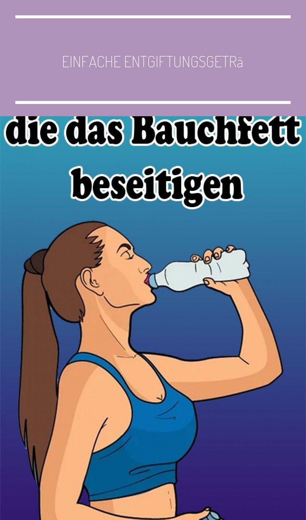 Einfache Entgiftungsgetränke, die das Bauchfett beseitigen #detox drinks for we…