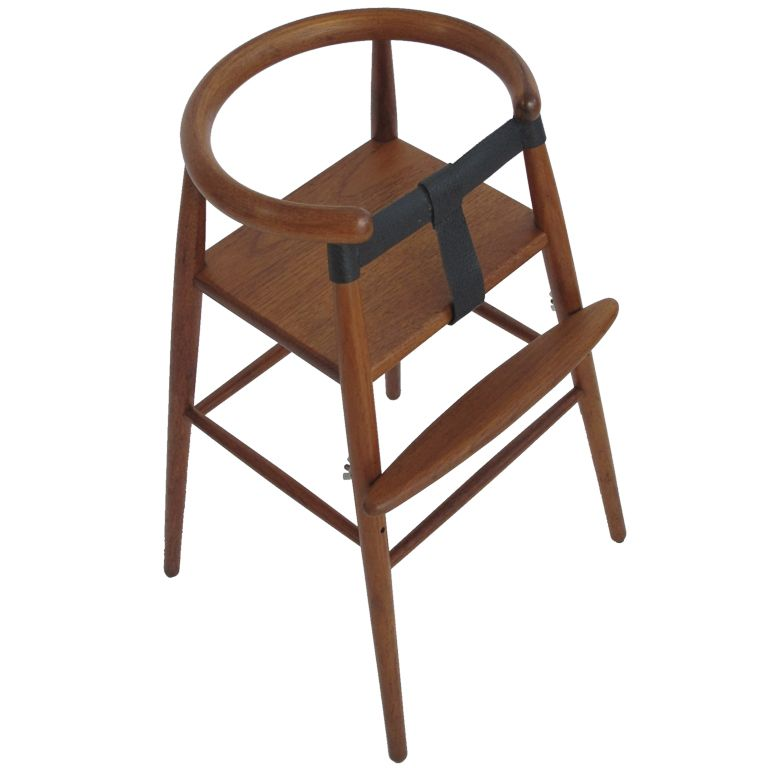 Nanna Ditzel Childs Highchair | From a unique collection of antique and modern chairs at http://www.1stdibs.com/furniture/seating/chairs/