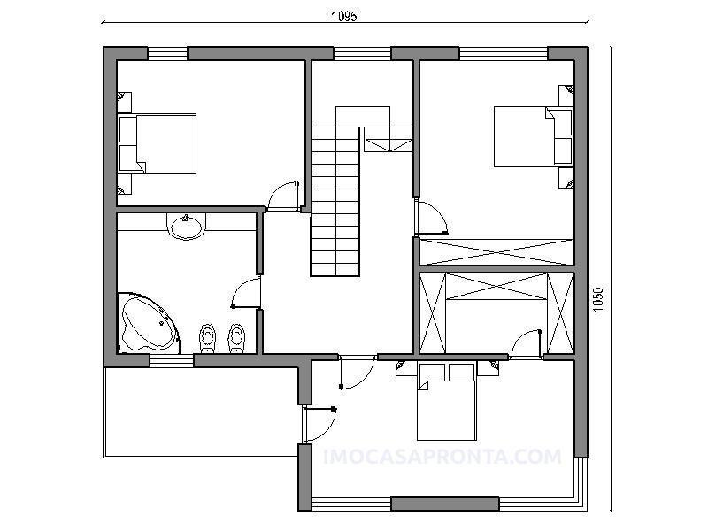 Bravus moradia t3 imocasapronta planta 2 CASAS Pinterest - combien coute une maison en autoconstruction