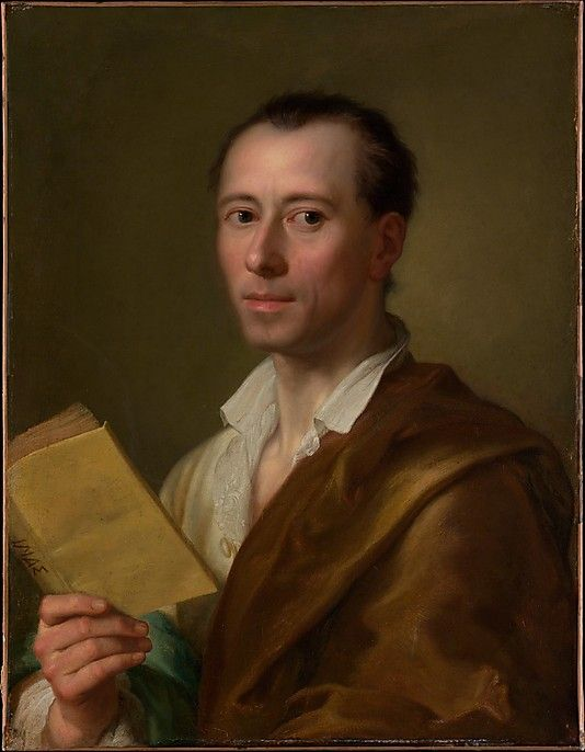 Winckelmann, Mengs, c. 1777