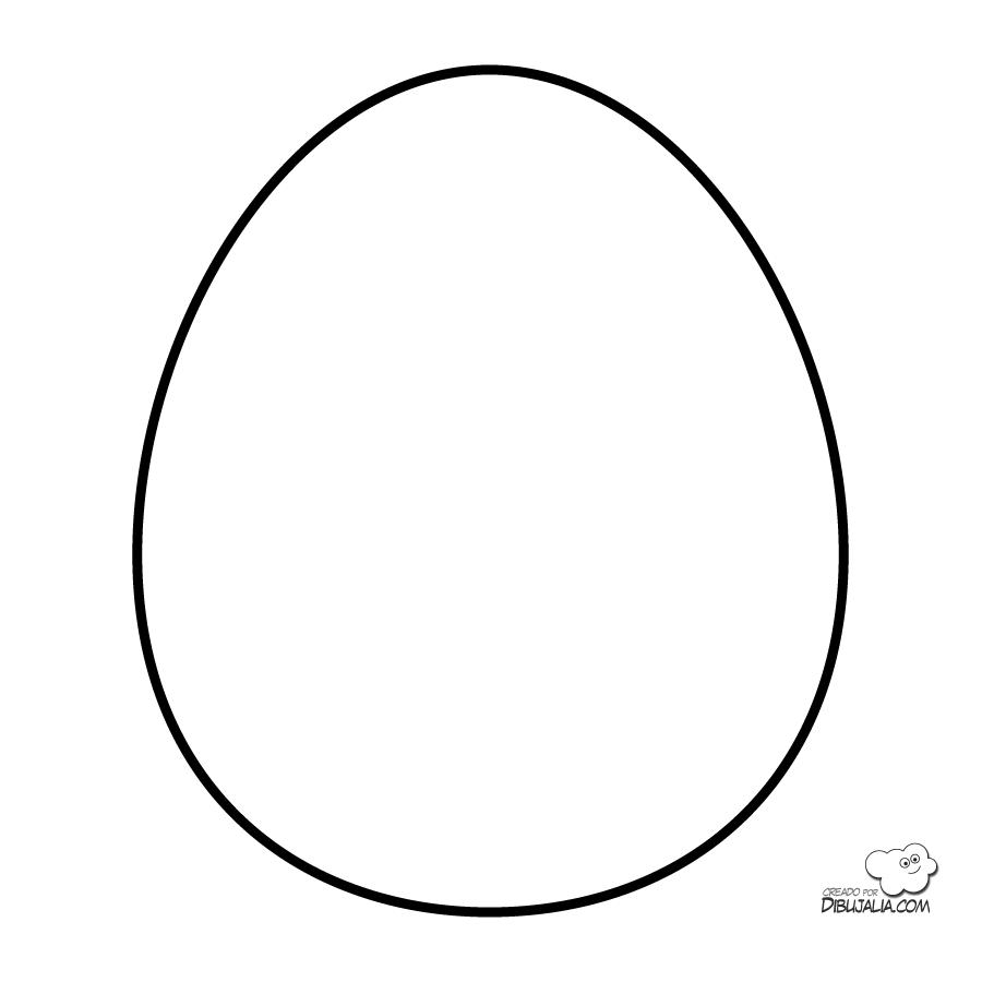 Plantilla huevo de pascua | huevos de pascuas | Pinterest | Huevo ...