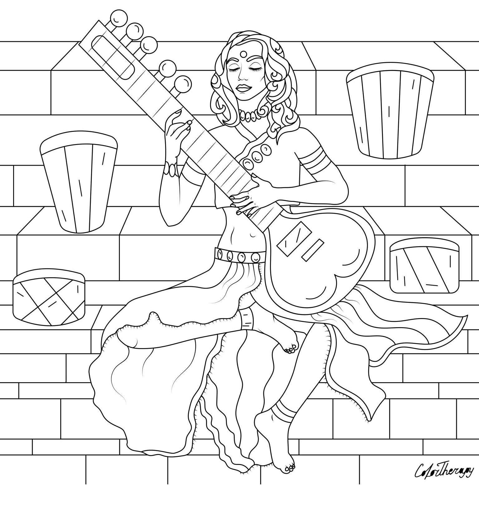 Pin on Color Therapy Coloring Pages