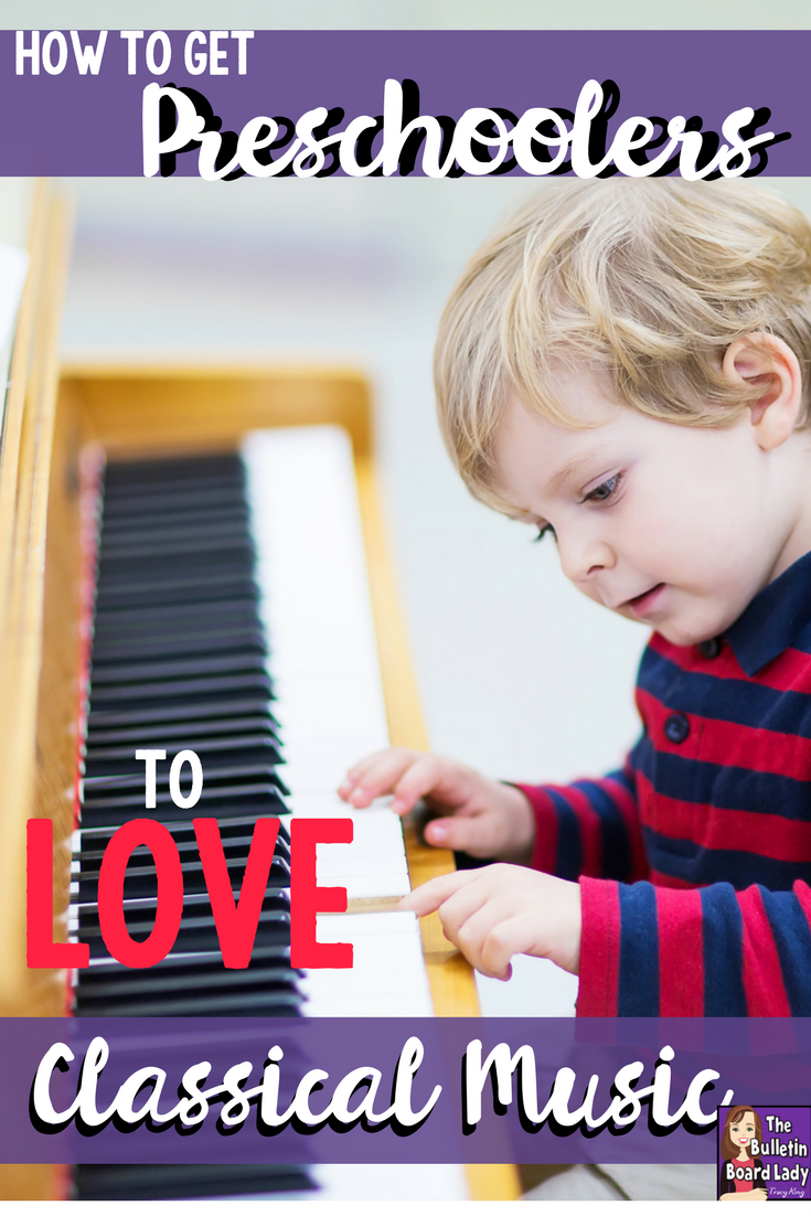 Preschoolers love moving to music and with your help they can learn to LOVE it!  Read about ideas for sensory play, relaxing play and pretend play to introduce your youngsters to classical music. FUN ideas that are tested and kid approved.  Music education at its best written by Cori Bloom.