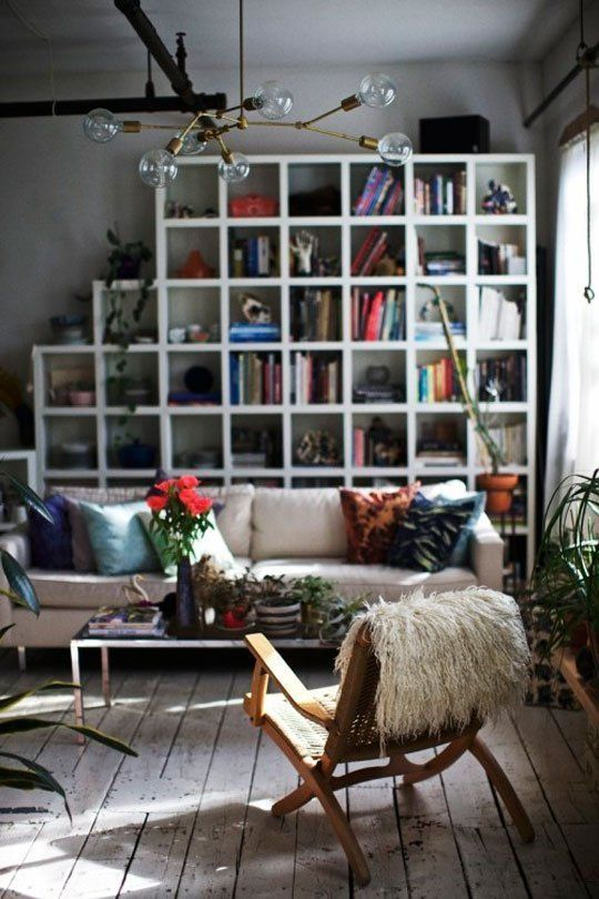 Living Room Layout Ideas Place A Bookcase Behind Your Sofa Apartment Therapy