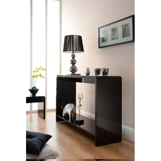 Toscana Black High Gloss Console Table TOS03 for hall Pinterest