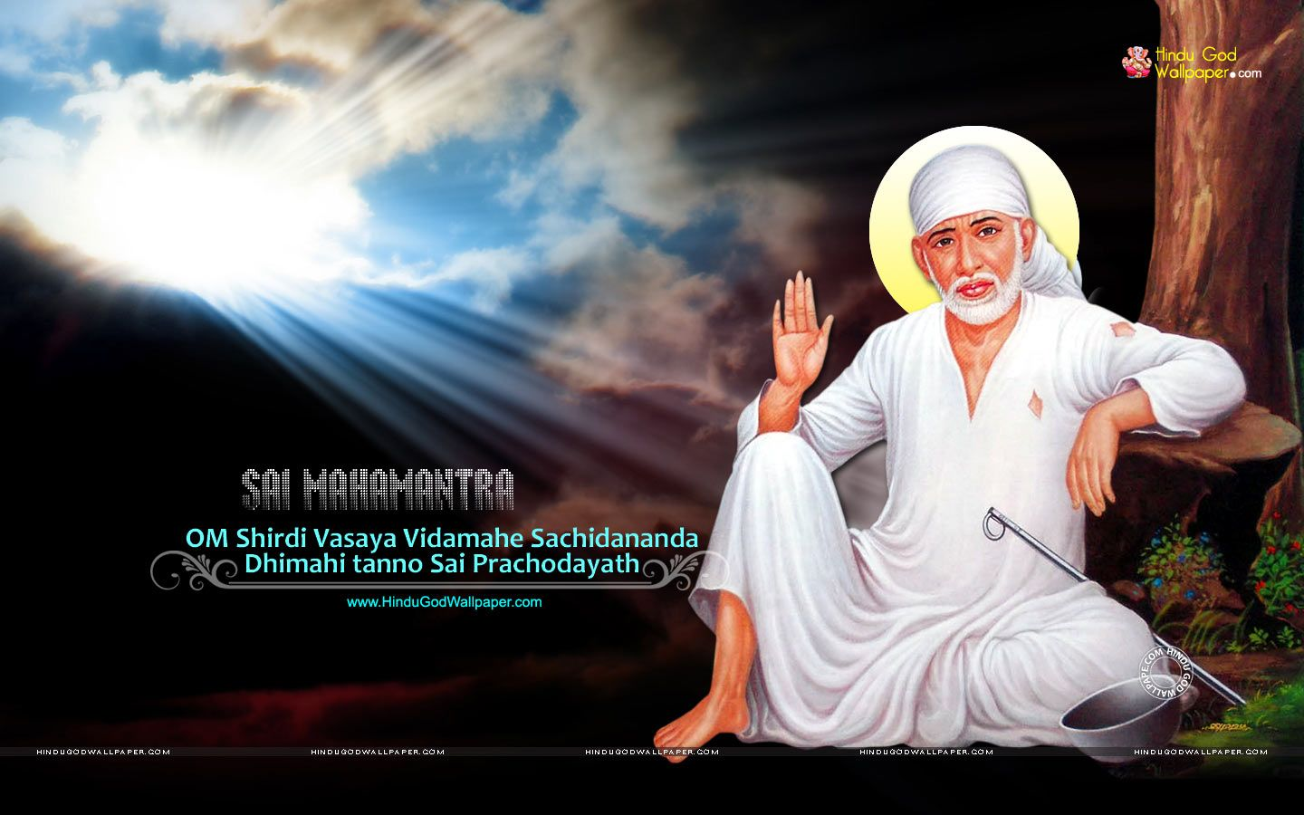 Sai Baba Desktop Background Wallpaper With Images Desktop