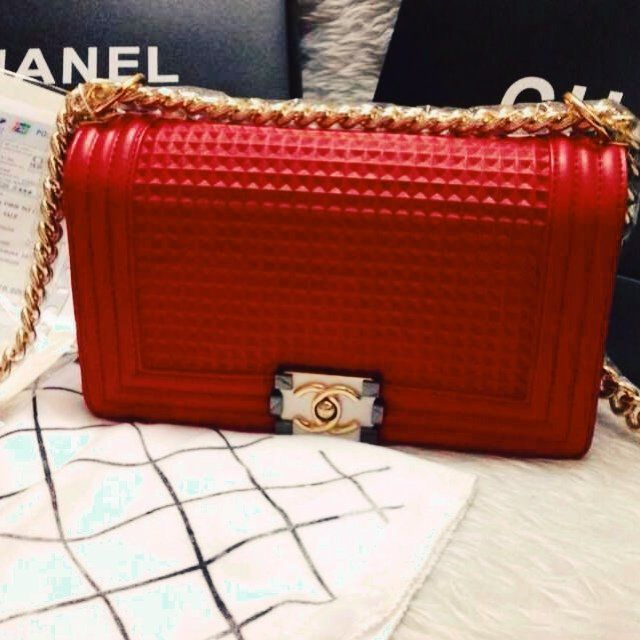 beeec650a541e9 Listed on Depop by zha | Bags | Chanel le boy, Chanel, Chanel boy bag