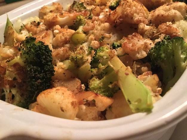 Arroz integral con verduras al horno