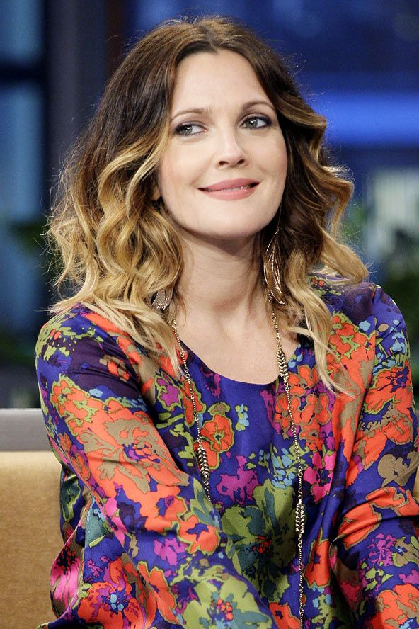 Drew Barrymore Ombre Maybe