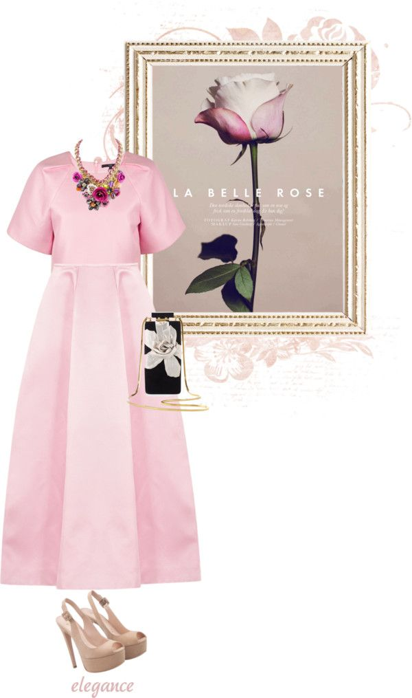 """La belle rose."" by fattie-zara on Polyvore"