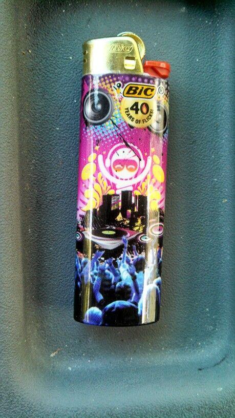 Raver Bic lighter