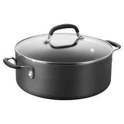 Calphalon Simply 5 Qt. Nonstick Soup Pot in Black