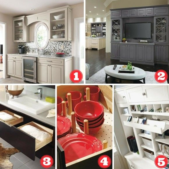 2016 Trends from MasterBrand Cabinets | Home design ...