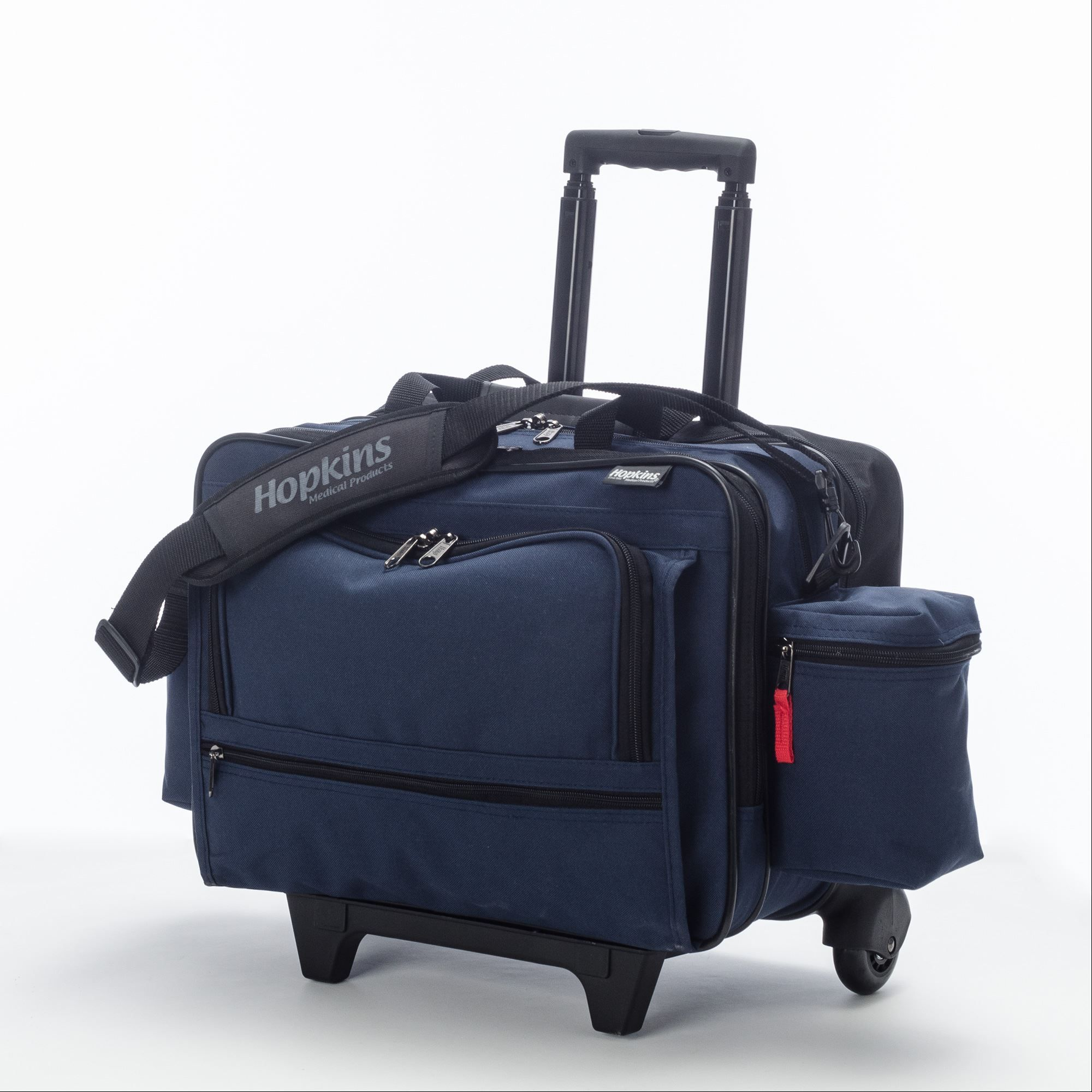 Rolling Med Bag With Ez View Features Hopkins Medical Products