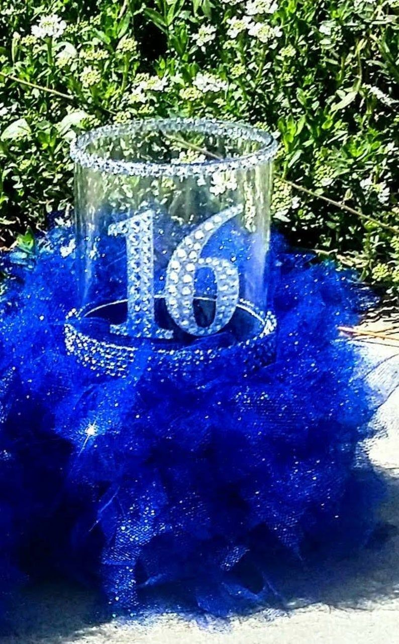 Sweet 16 gift, Sweet 16 decorations, Sweet 16 centerpiece, Sweet 16 party decorations, On sell Sweet 16 decorations