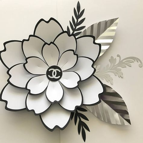 SVG Petal #100 Paper Flower Template, Digital Version, The Couture ...