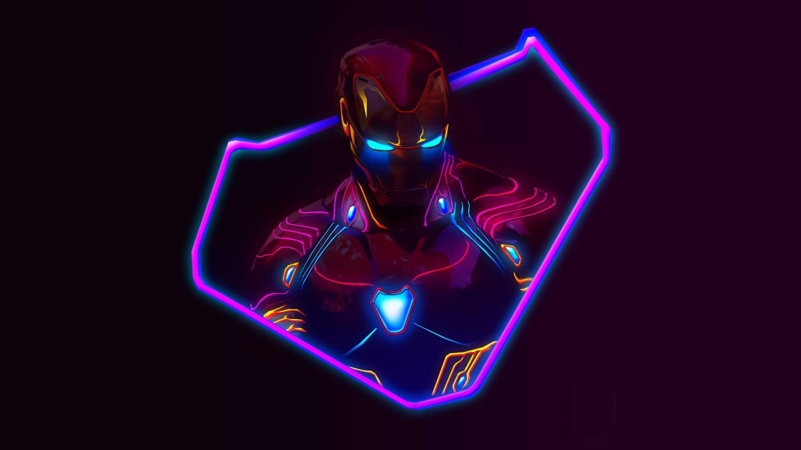 Marvels 2018 Neon Marvels Pinterest Avengers Wallpaper