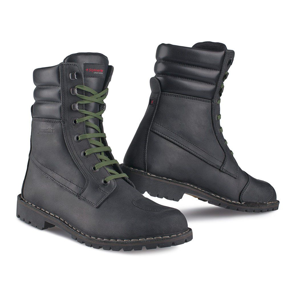 Stylmartin Indian Black Motorcycle Boots  7368445c524